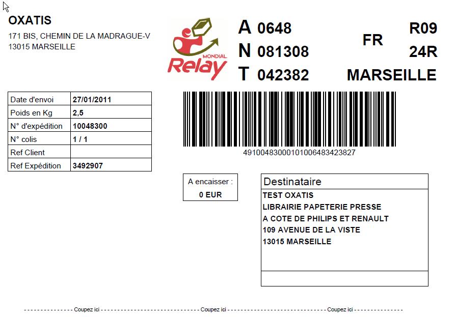 Mondial relais colis bon prix - Agence livraison mondial relay ...